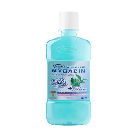 น้ำยาบ้วนปาก มายบาซิน สูตรเบรท MyBacin Mouthwash Breath