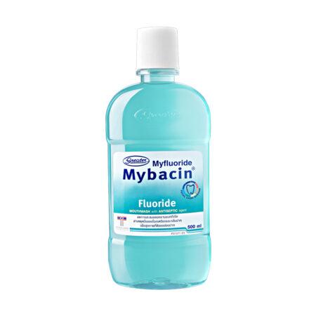 น้ำยาบ้วนปากมายบาซิน สูตรฟลูออไรด์  MyBacin Mouthwash Fluoride