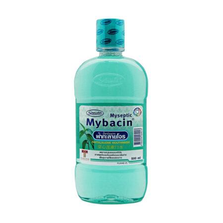 น้ำยาบ้วนปากมายบาซิน สูตรฟ้าทะลายโจร MyBacin Mouthwash Fatalaijone