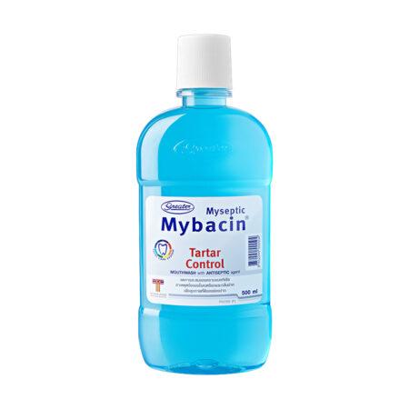 น้ำยาบ้วนปากมายบาซิน สูตรคูลทาร์ทาร์ คอนโทรล MyBacin Mouthwash Tartar control